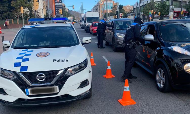 La Policia Local denuncia una festa il·legal a Esplugues