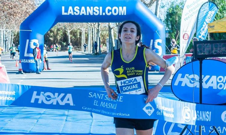 Douane Ouboukir, del CASant Just, guanya al Masnou