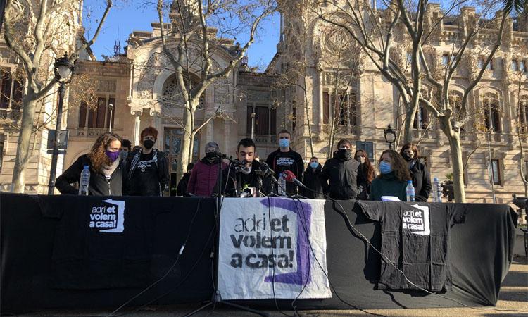 Adri Carrasco torna a Esplugues després de l'arxivament del cas