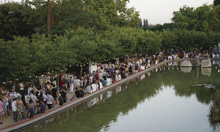 El Parc de Torreblanca s'omple per la festa de Sant's Market