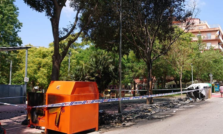 Dos nous incendis posen Esplugues en alerta