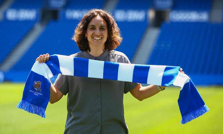L'espluguina Natalia Arroyo entrenarà la Real Sociedad