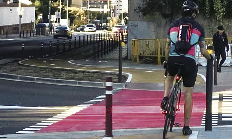 Millora la connexió amb bici entre Sant Just i Barcelona