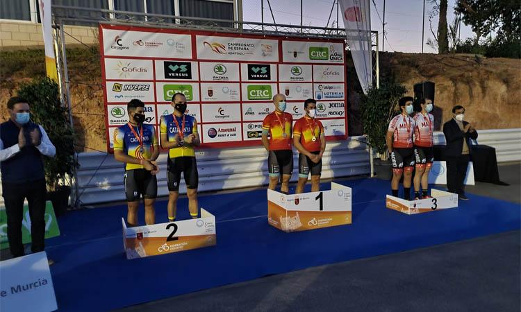 Ignasi Ávila guanya dues plates al Campionat d'Espanya