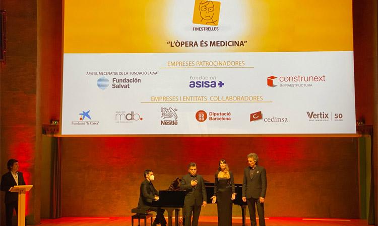 Èxit de la gala benèfica de la Fundació Finestrelles d'Esplugues