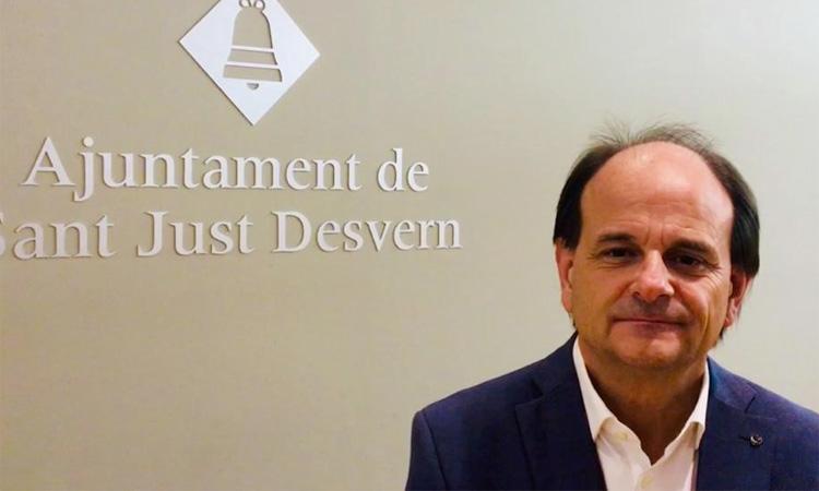 Josep Perpinyà deixa l'alcaldia de Sant Just Desvern