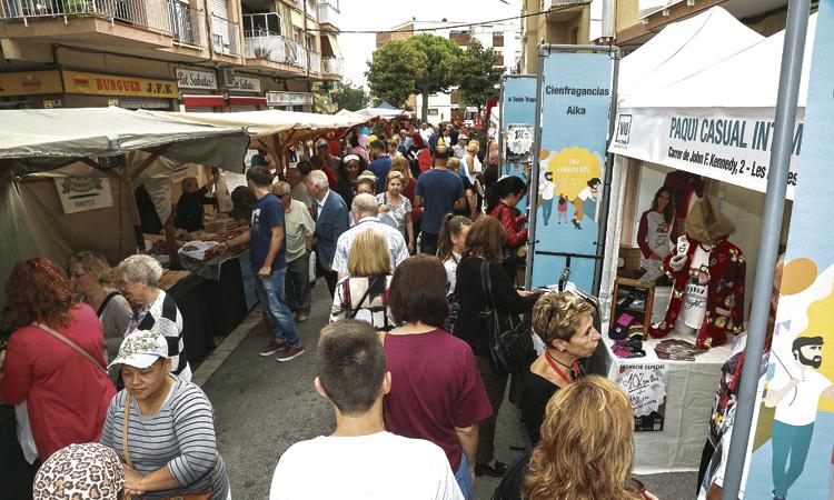 Més de 60 comerços participen en la 20a edició del Firadespí