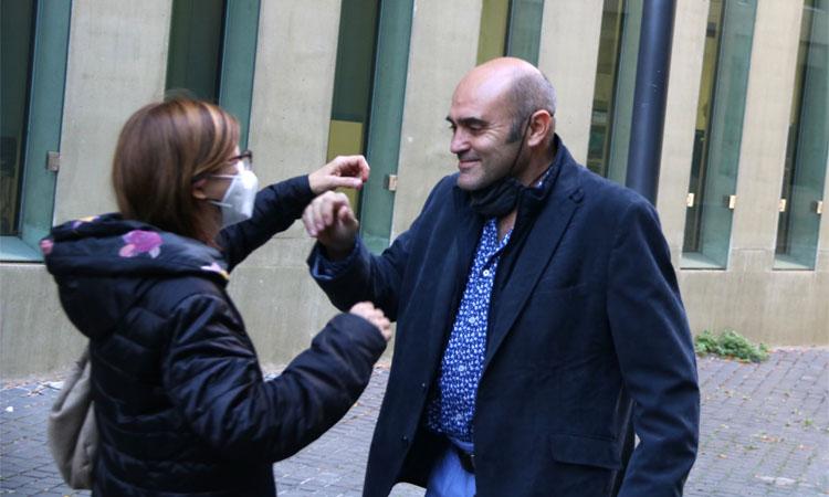 El jutge deixa en llibertat els santjoanencs Xavier Vendrell i Marta Molina