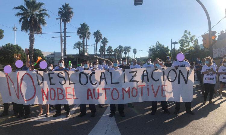 Acord per tancar la fàbrica de Nobel Plastiques de Sant Joan Despí