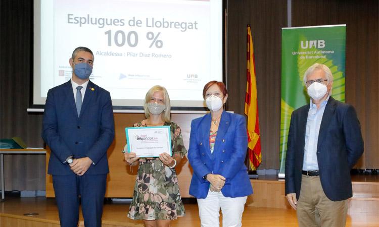 Esplugues i Sant Joan reben el segell de 100% de transparència