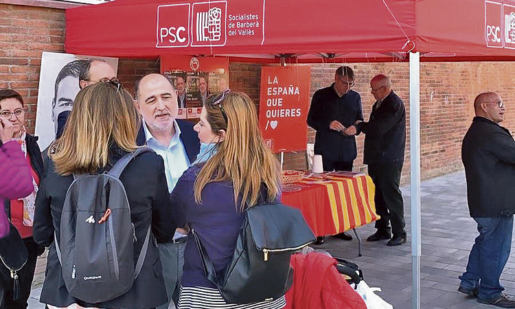 Garcés substitueix del Frago com a candidat del PSC a Barberà