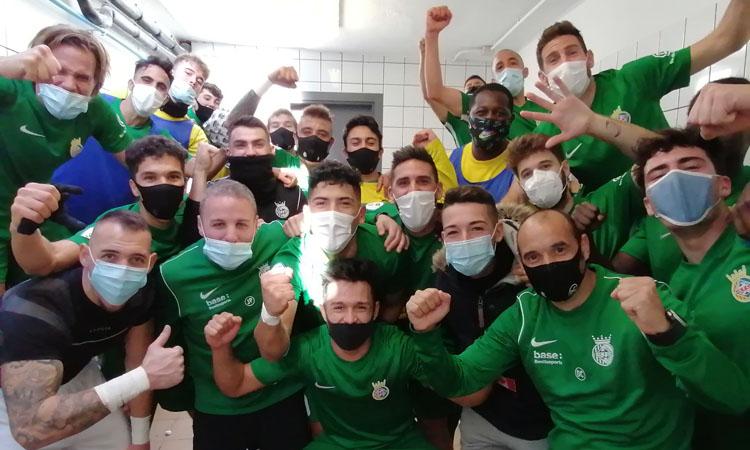 El Cerdanyola FCpot tancar el 2020 com a líder de Tercera