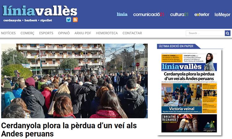 Línia Vallès estrena un nou web totalment redissenyat