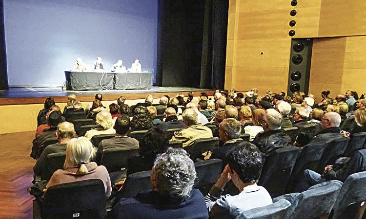 Rebuda hostil als tècnics de l'AMB pel tribut metropolità a Barberà