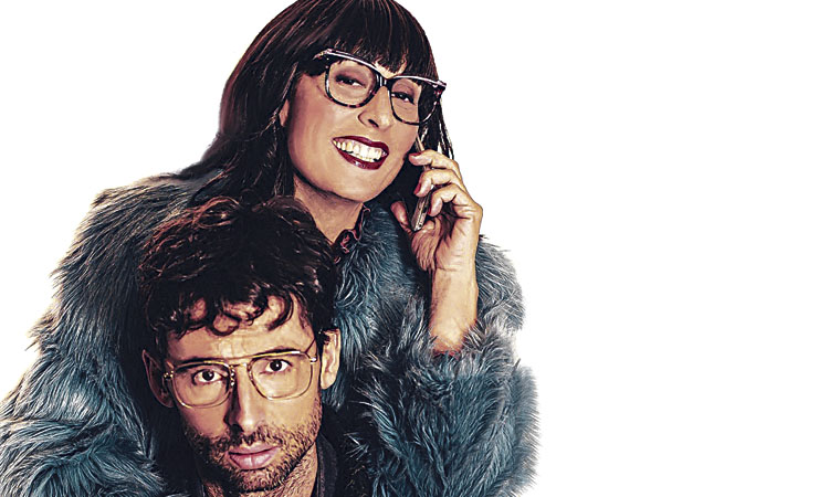 Clara Segura i Bruno Oro porten 'Cobertura' al Teatre Ateneu