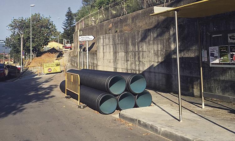 El carrer Montflorit de Cerdanyola no estarà fins al 31 de maig