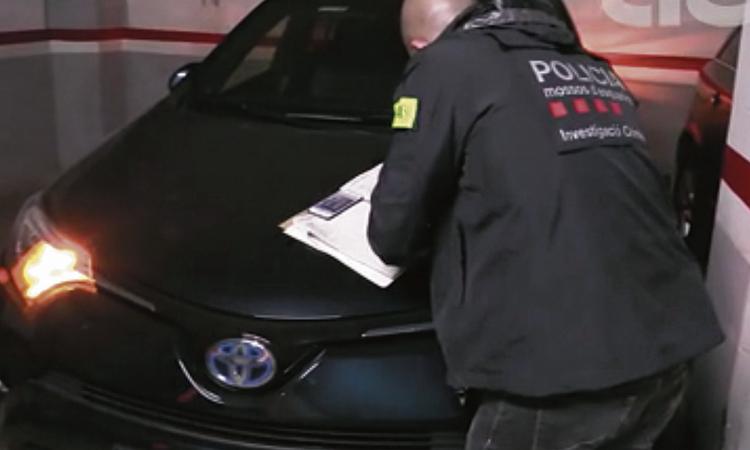 Desarticulen una xarxa criminal que traficava amb cotxes