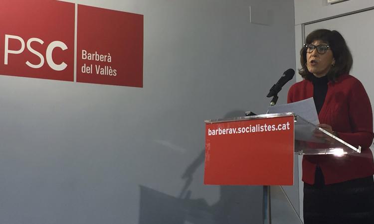 L'exalcaldessa de Barberà renuncia a ser la cap de llista del PSC