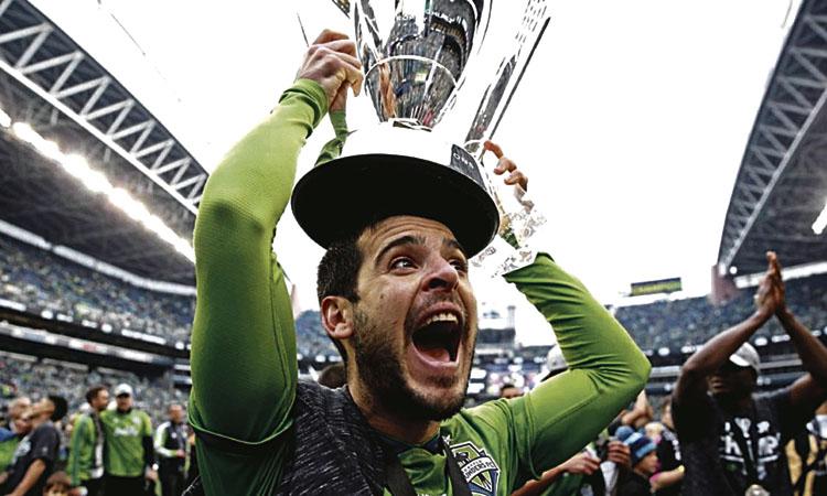 Víctor Rodríguez, campió de la MLS i millor jugador de la final