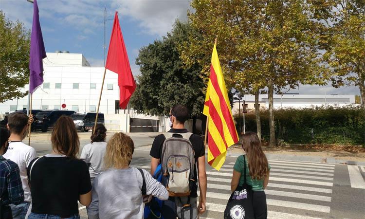 Detingut un veí de Cerdanyola per participar en una concentració antifeixista