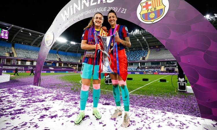Alexia Putellas fa història: campiona de Champions amb el Barça