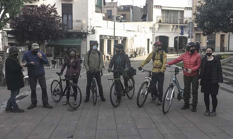 La bici, el transport més ràpid entre Granollers i la Garriga