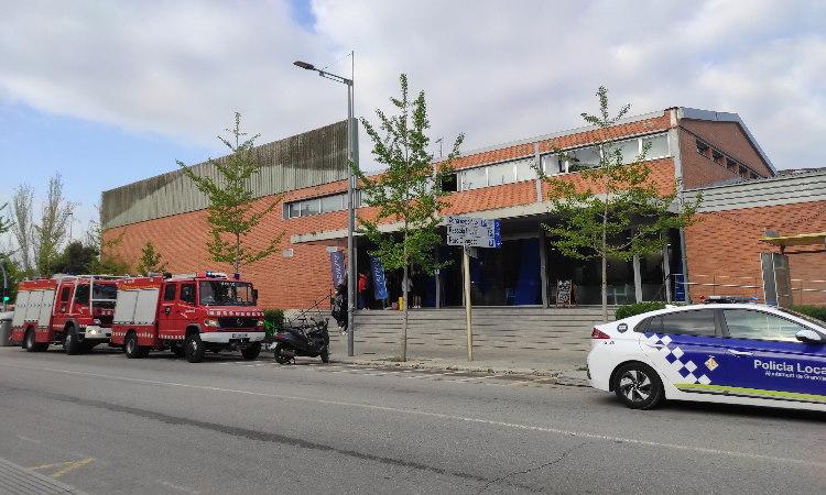 Un accident laboral al Club Natació Granollers deixa un jove ferit en estat crític