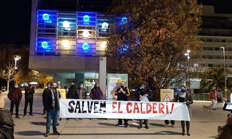 """Salvem el Calderí titlla l'Ajuntament de Mollet de """"repressor i autoritari"""""""