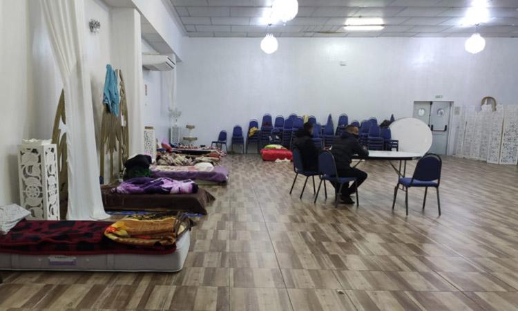 La Creu Roja acull els migrants de la nau de Canovelles