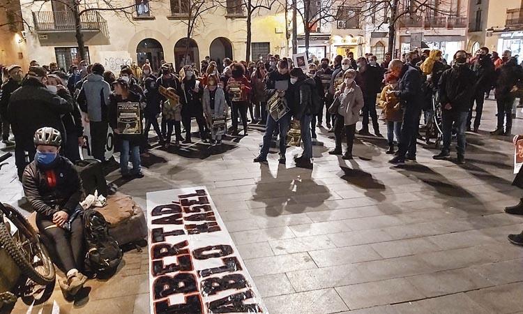 El rebuig per la detenció de Pablo Hasél arriba al Vallès