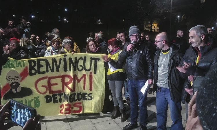 Mollet rep els darrers CDRs: Germinal Tomàs ja és a casa