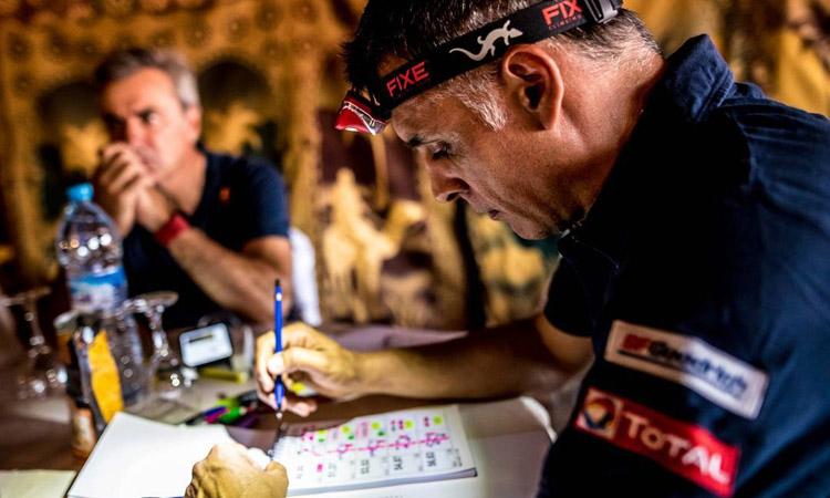 Lucas Cruz puja al podi del Dakar per sisena vegada