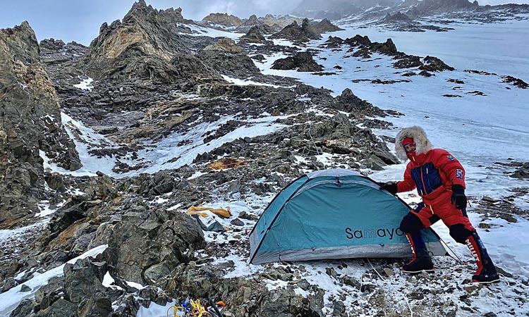 Sergi Mingote ja ha arribat al camp 1 del K2