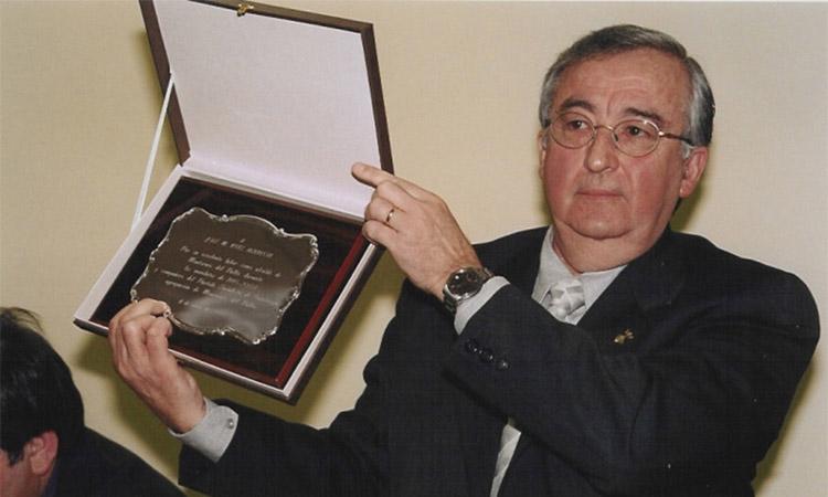 Mor José María Ruiz, exalcalde de Montornès