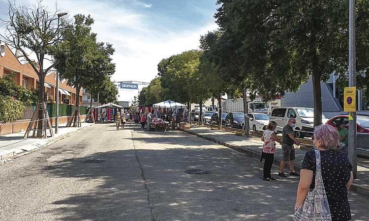 Els marxants de Mollet boicotegen l'Ajuntament