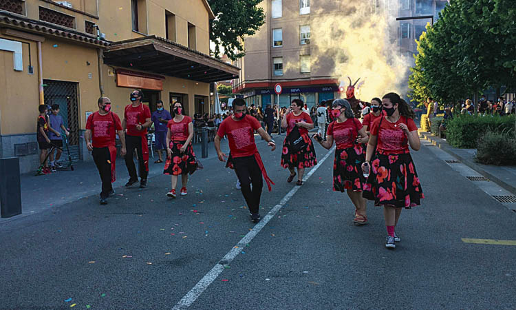 Montmeló viu la Calidoscòpia, l'alternativa a la Festa Major