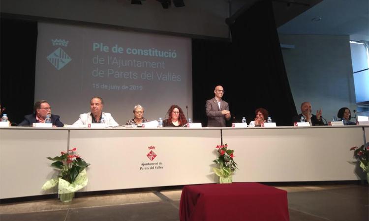 Jordi Seguer ja és oficialment nou alcalde de Parets
