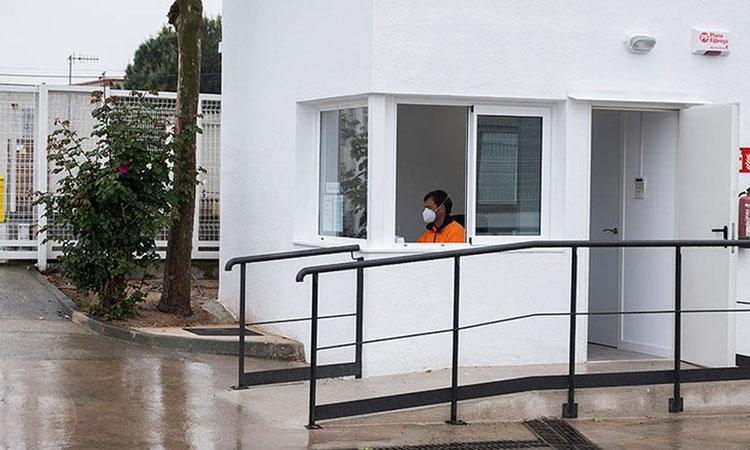 Rentat de cara a la deixalleria municipal de Santa Perpètua