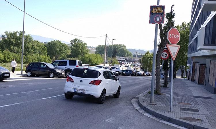Multen 85 conductors per superar el límit de velocitat a Montornès
