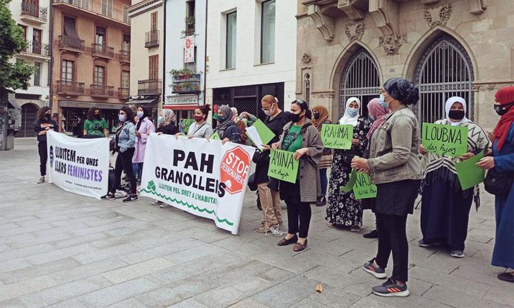 La lluita per l'habitatge i el feminisme uneixen forces
