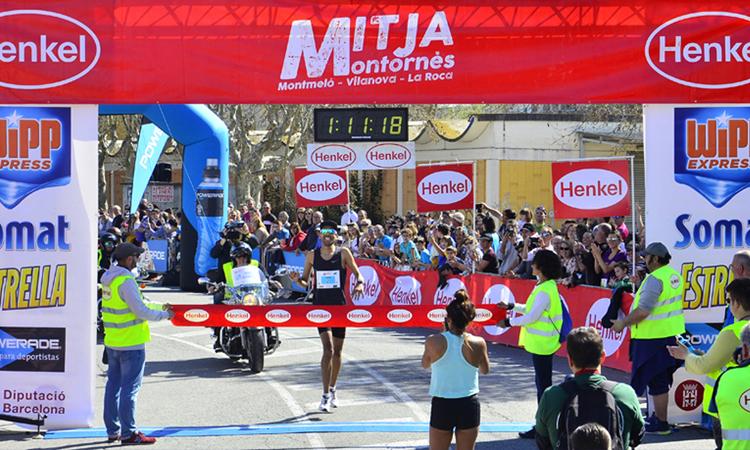 Nour i Segura guanyen la 26a Mitja de Montornès