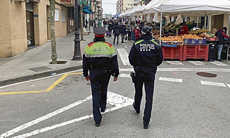 Més feina conjunta entre la Policia Local de Montornès i els Mossos