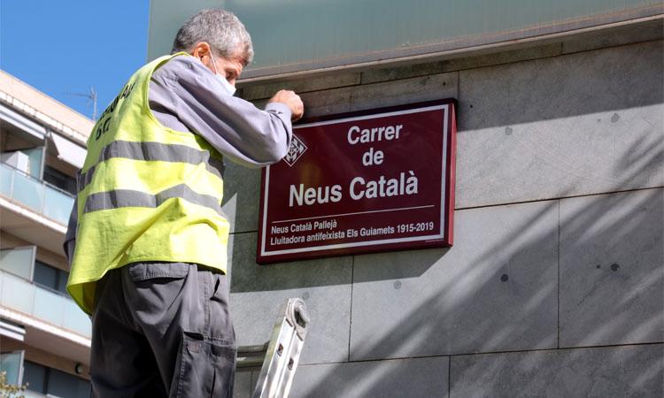 Mollet retrà homenatge a Neus Català amb un carrer?