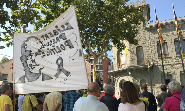 Jordi Turull, gran protagonista de l'1 d'octubre a Parets