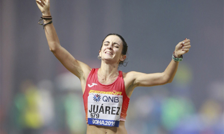 Juárez, desena a la final dels 50 quilòmetres marxa a Doha