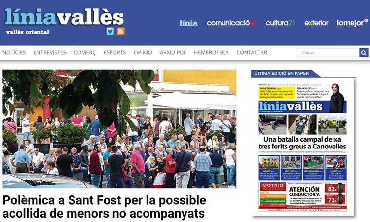 Línia Vallès se suma a la vaga general del 18-O