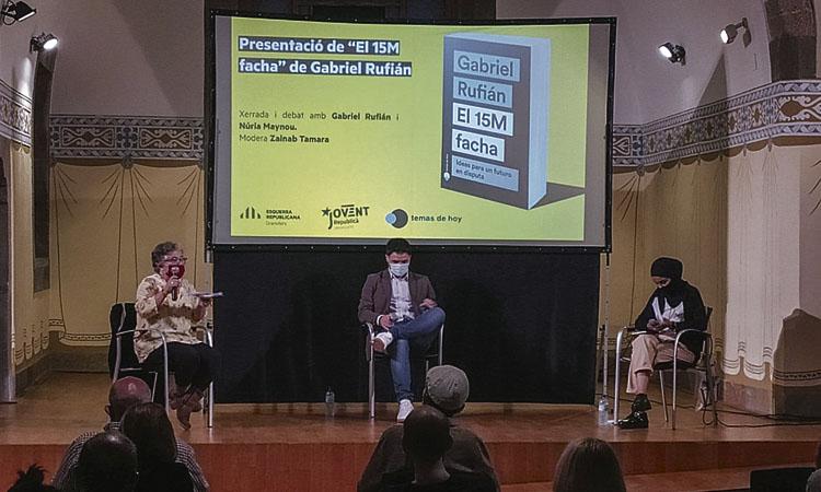 Gabriel Rufián presenta el seu nou llibre a Granollers