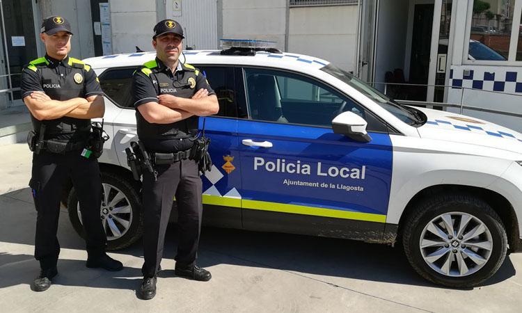 La Policia Local de la Llagosta evita sis ocupacions més en tres setmanes