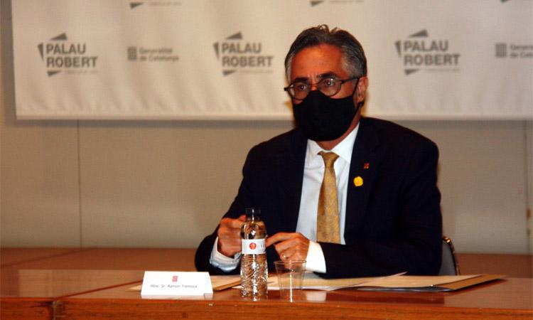 Ramon Tremosa ja és oficialment el nou president del Circuit de Montmeló