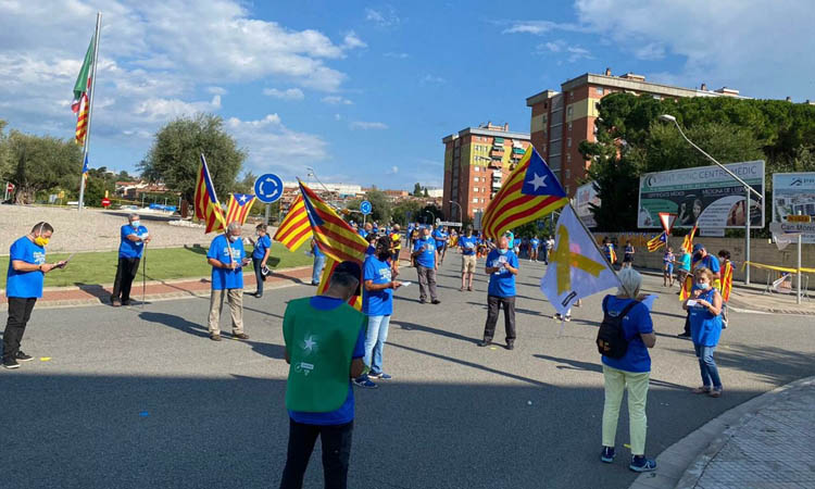 """El Vallès celebra """"la Diada més complicada de la història"""""""